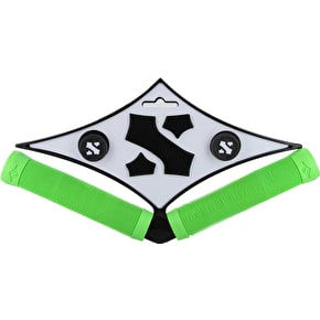Sacrifice S Bar Grips - Neon Green