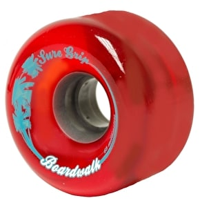 Sure-Grip Boardwalk 65mm Outdoor Wheels-Red (8pk)