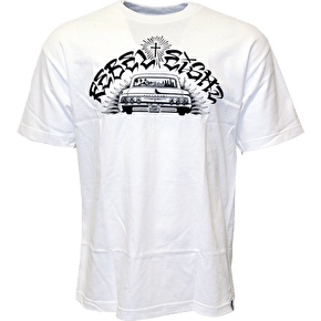 Rebel8 Six Four T-Shirt - White