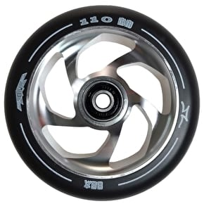 AO Delta 5 Hole 110mm Wheel incl Bearings - Silver
