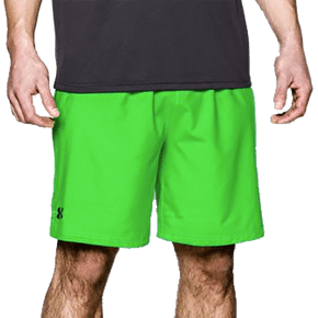 Under Armour Mirage Shorts- Green Energy