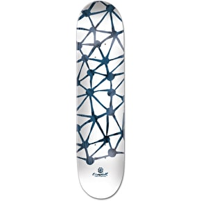 Element x T. Campbell Indigo Everything Skateboard Deck - 8