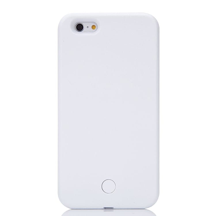 Aero Light Up LED Selfie iPhone Case - White