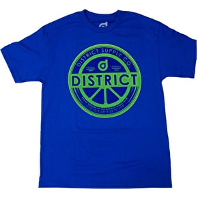 District Supply Co. Legit T-Shirt - Royal Blue