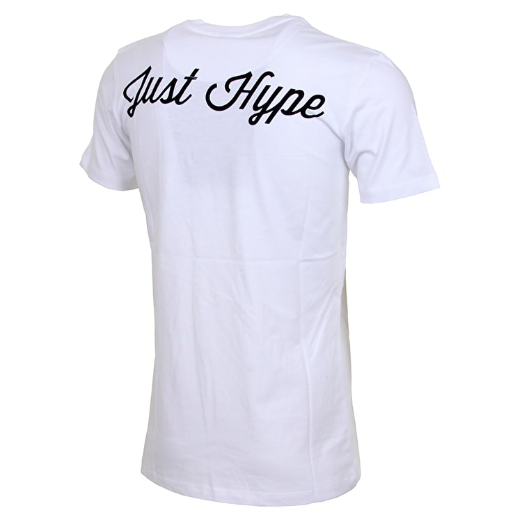 Hype Double JustHype T shirt - White