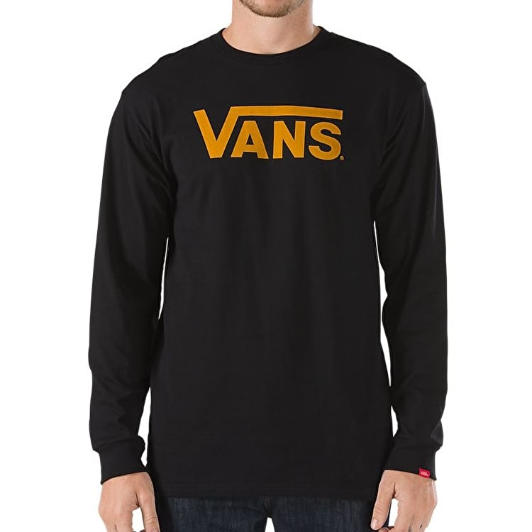 Vans Classic LS T-Shirt - Black/Cathay Spice