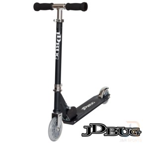JD Bug Junior Street Scooter - Matt Black