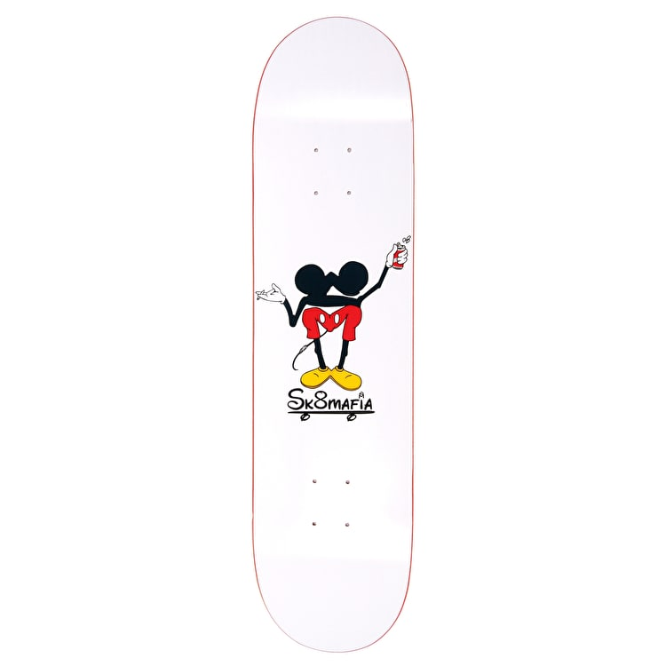 Sk8 Mafia Happy Place Skateboard Deck - 8""