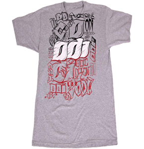 ODI 'Throw It Up' Tee- Grey
