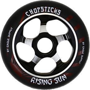 ChopSticks 110mm Rising Sun Wheel - Black PU
