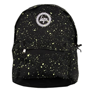 Hype Speckle Backpack - Black/Lemon