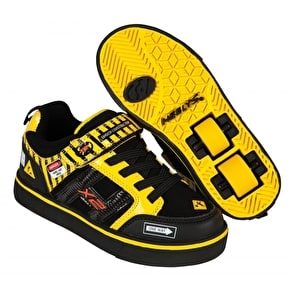 Heelys X2 Bolt Light Up - Black/Yellow/Caution