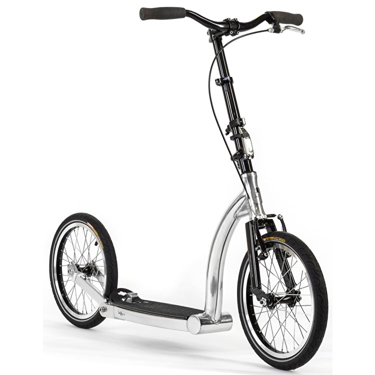 SwiftyONE MK3 LE Folding Complete Scooter - Polished Aluminium