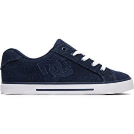 DC Chelsea TX SE Skate Shoes - Dark Blue