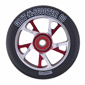 Grit Scooter Wheel - Bio Core 110mm Black/Red/Silver