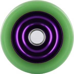 Eagle Purple core Green Pu Metal Core wheel - 100mm