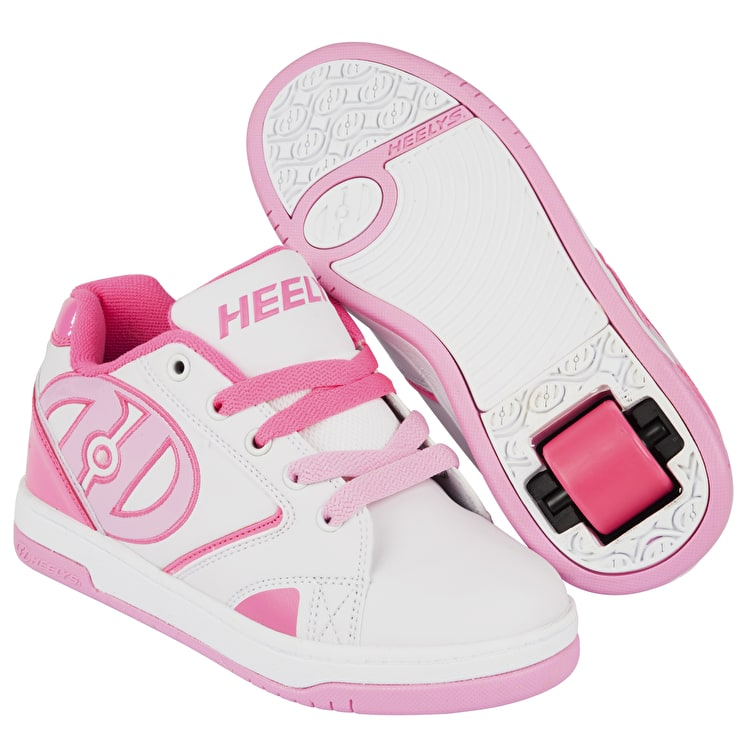 Heelys Propel 2.0 - White/Hot Pink/Light Pink