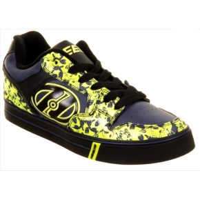 Heelys Motion Plus - Black/Navy/Lime/Skulls