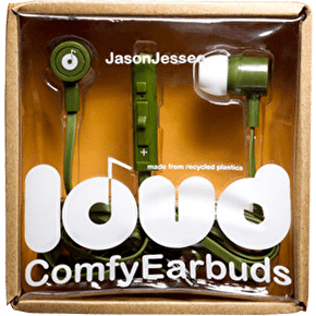 Loud Fat and Flat Earphones - Jason Jesse