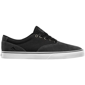 Emerica Provost Slim Vulc Skate Shoes - Grey/Black