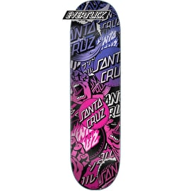 Santa Cruz Classic Collage Everslick Skateboard Deck