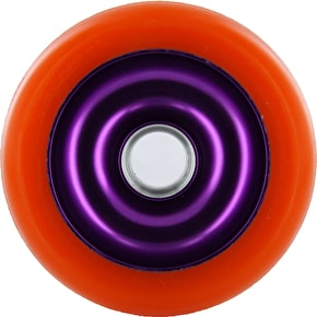 Eagle Purple core Orange Pu Metal Core wheel - 100mm