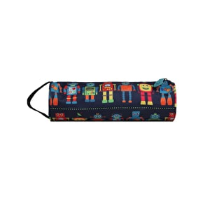 Mi-Pac Robots Pencil Case - Blue Multi