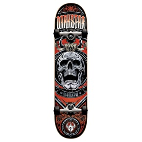 Darkstar Complete Skateboard - Crest Red 7.5