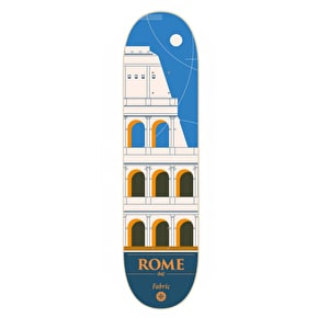 Fabric Travel Series Skateboard Deck - Rome 8.125