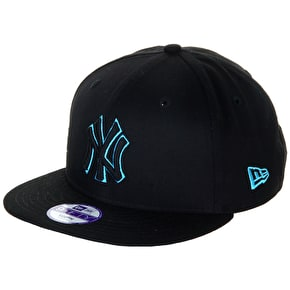 New Era Junior 9Fifty Snapback Cap - NY Yankees- Blue