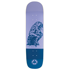 Welcome Crinker On Yung Niburu Skateboard Deck - 8.25