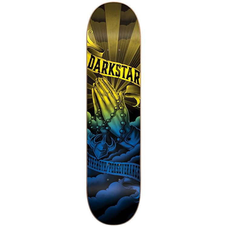 Darkstar Salvation Skateboard Deck - Blue/Yellow 8.125""