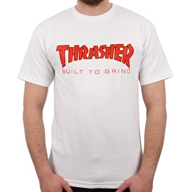 Independent x Thrasher BTG T Shirt - White