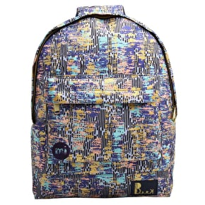 Mi-Pac Backpack - Bark Navy/Multi