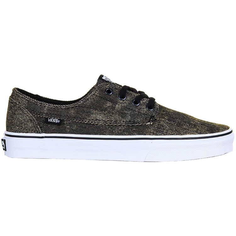 Vans Brigata Shoes - (Acid Denim) Khaki/Black
