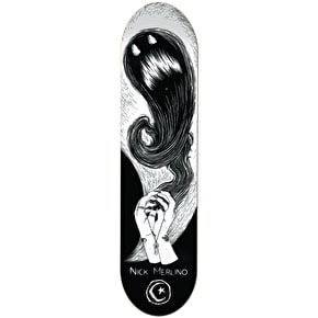 Foundation Shadow Puppet Skateboard Deck - Merlino 8.125