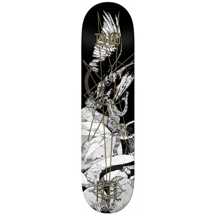 Real Forest Friend Ishod Skateboard Deck - Black 8.25""
