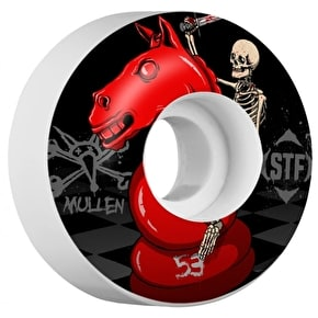 Bones STF Mullen Knight Rider V1 Skateboard Wheels - 53mm