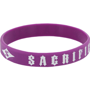 Sacrifice Wrist Band - Purple