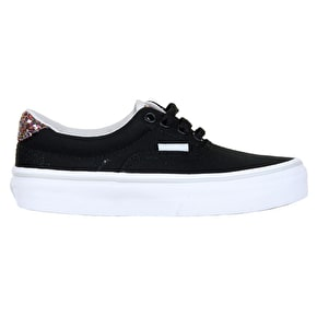 Vans Era 59 Kids Skate Shoes - (Glitter Pop) Black