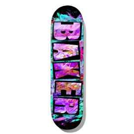 Baker Brand Name Ink Drops - Figgy Skateboard Deck 8.38