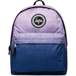 Hype Navy Fade Backpack - Navy/Pink