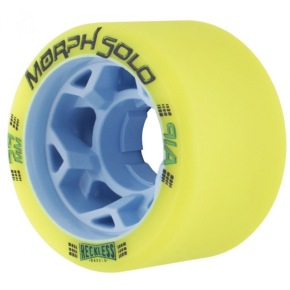 Reckless Morph Solo 59mm Roller Skate Wheels - Lime 91a (Pack of 4)
