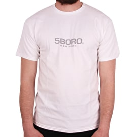5Boro EXT Logo T-Shirt - White