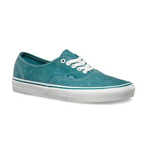 Vans Authentic Shoes - (Washed) Teal