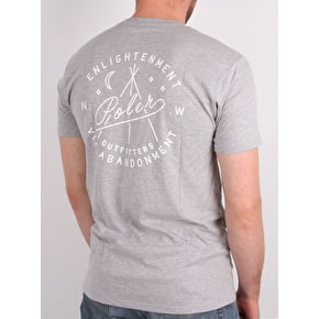 Poler Enlightenment T-Shirt - Grey Heather