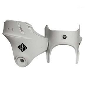 USD Carbon Cuff- White