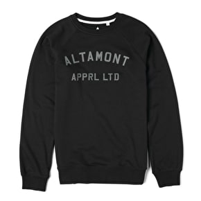Altamont Non Game Crew Sweater - Black