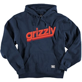 Grizzly Fast Times Cubs Hoodie - Navy