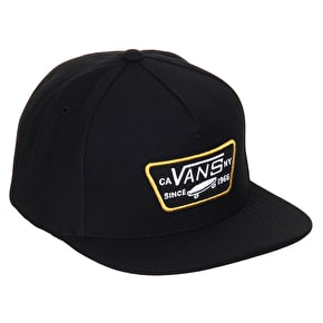 Vans Full Patch Snapback Cap - Black/Tawny Olive